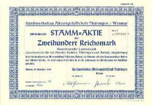 Handwerksbau Thüringen