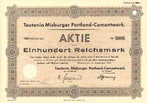Teutonia Misburger Portland-Cementwerk