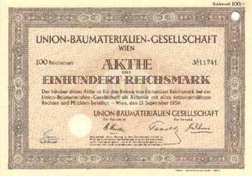Union-Baumaterialien-Gesellschaft