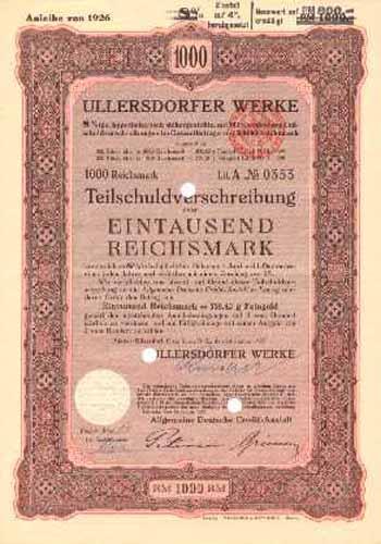 Ullersdorfer Werke