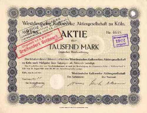 Westdeutsche Kalkwerke