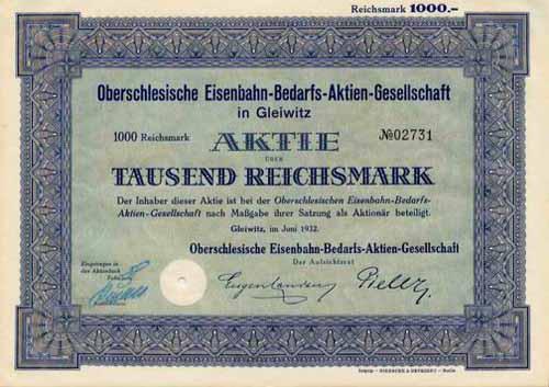 Oberschlesische Eisenbahn-Bedarfs-AG