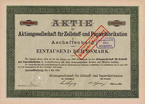 AG für Zellstoff- und Papierfabrikation