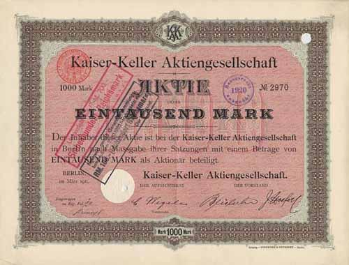 Kaiser-Keller