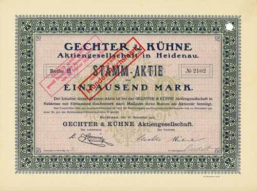 Gechter & Kühne
