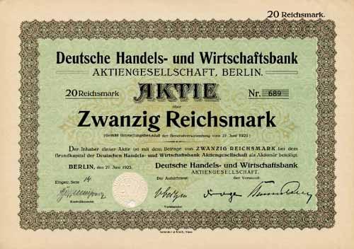 Deutsche Handels- und Wirtschaftsbank