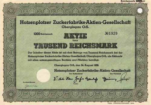 Hotzenplotzer Zuckerfabriks-AG