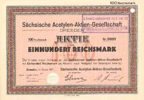 Sächsische Acetylen-AG