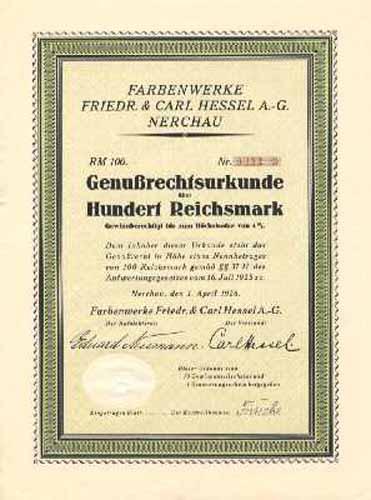Farbenwerke Friedr. & Carl Hessel
