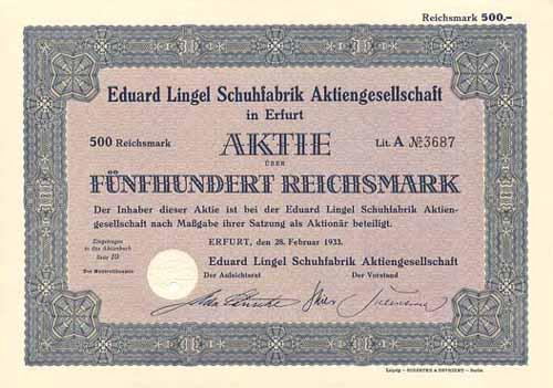 Eduard Lingel Schuhfabrik