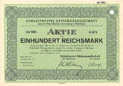 Schleifmittel AG vormals Pike & Escher