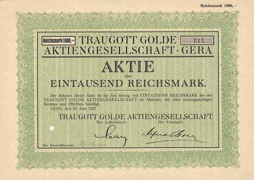 Traugott Golde