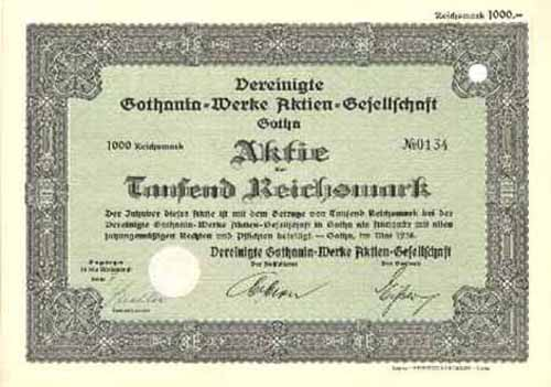 Vereinigte Gothania-Werke