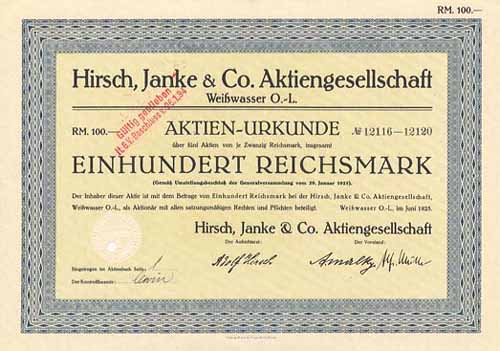 Hirsch, Janke & Co.