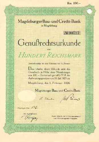 Magdeburger Bau- und Credit-Bank