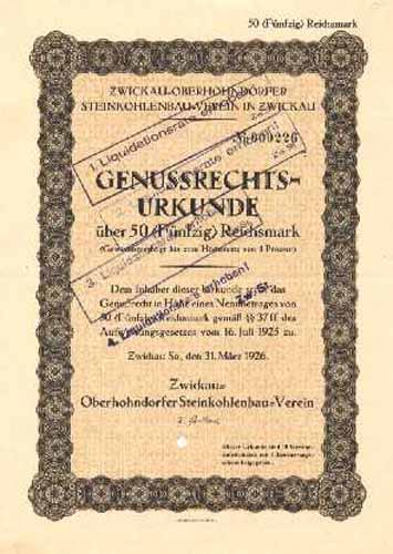 Zwickau-Oberhohndorfer Steinkohlenbau-Verein
