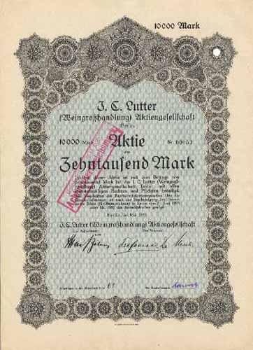 J. C. Lutter (Weingroßhandlung)