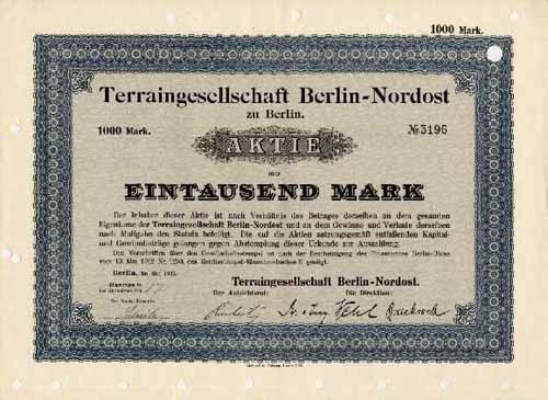 Terraingesellschaft Berlin-Nordost