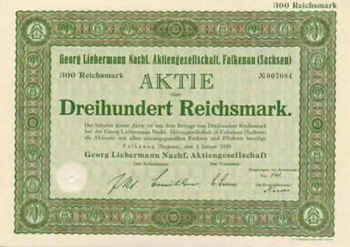 Georg Liebermann Nachf.