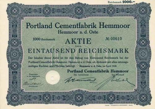 Portland Cementfabrik Hemmoor