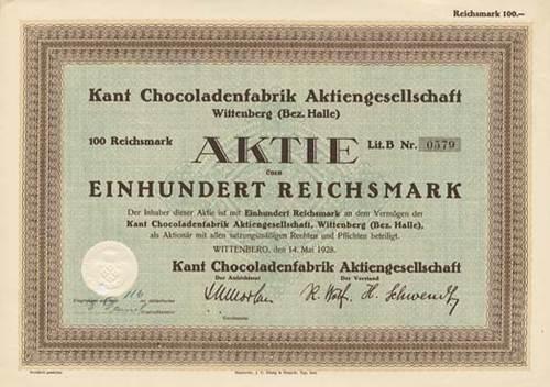 Kant Chocoladenfabrik