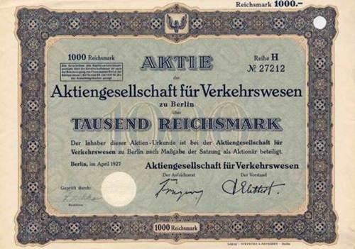 AG für Verkehrswesen