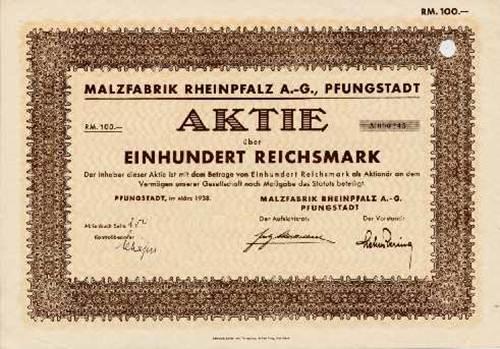 Malzfabrik Rheinpfalz