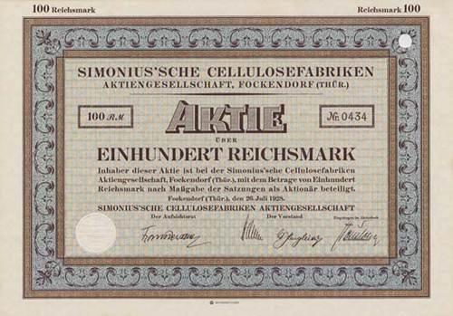 Simonius'sche Cellulosefabriken