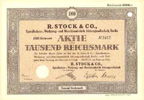 R. Stock & Co.