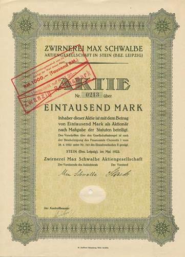 Zwirnerei Max Schwalbe