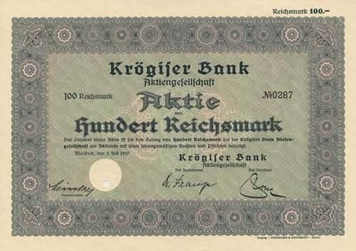 Krögiser Bank