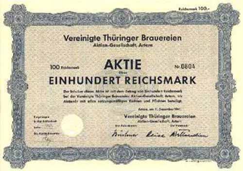 Vereinigte Thüringer Brauereien