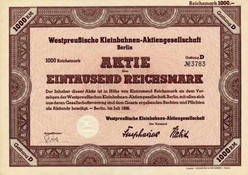 Westpreußische Kleinbahnen-AG