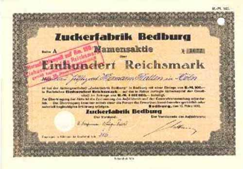 Zuckerfabrik Bedburg