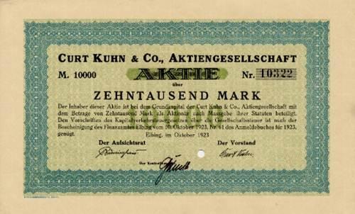 Curt Kuhn & Co.