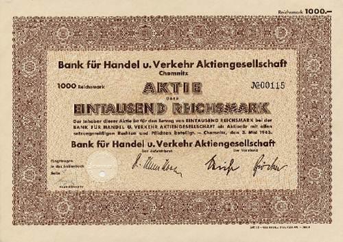 Bank für Handel u. Verkehr