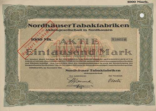 Nordhäuser Tabakfabriken
