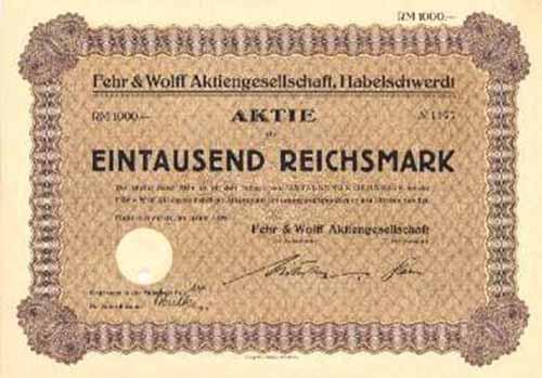 Fehr & Wolff