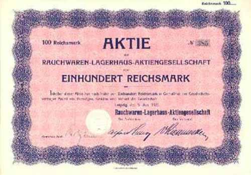 Rauchwaren-Lagerhaus-AG