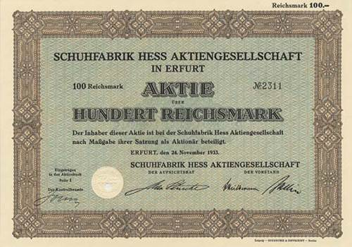Schuhfabrik Hess