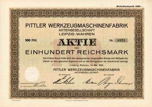 Pittler Werkzeugmaschinenfabrik