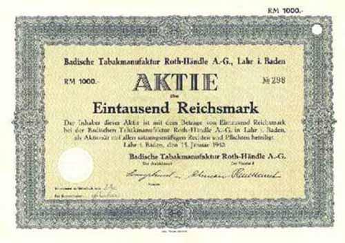 Badische Tabakmanufaktur Roth-Händle