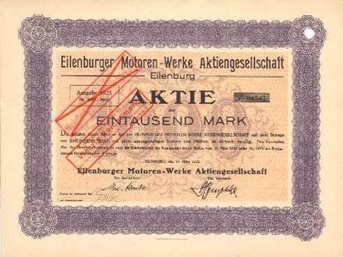 Eilenburger Motoren-Werke