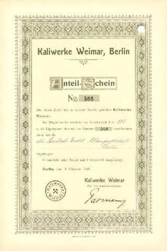 Kaliwerke Weimar