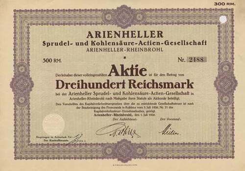 Arienheller Sprudel- und Kohlensäure-AG