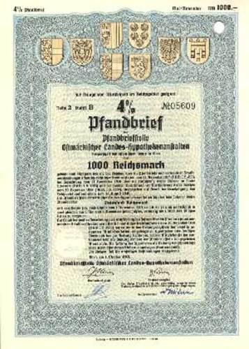 Pfandbriefstelle Ostmärkischer Landes-Hypothekenanstalten