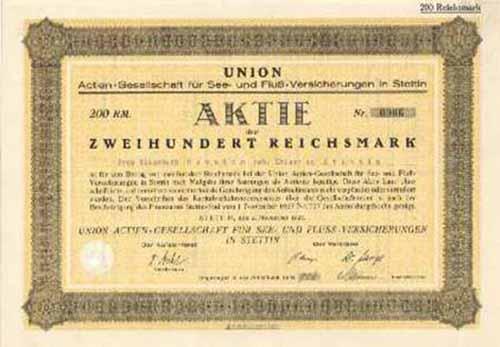 Union AG für See- und Fluß-Versicherungen