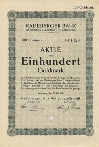 Radeberger Bank