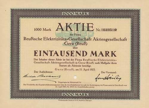 Reußische Elektrizitäts-Gesellschaft