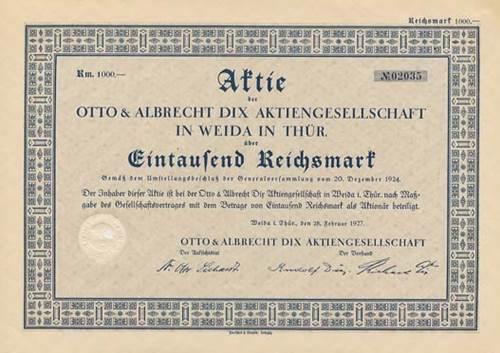 Otto & Albrecht Dix